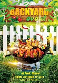 Barbecue Flyers 7 Hot Free Barbecue Bbq Flyers Templates Utemplates