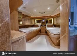 Italien Fiumicino Rom Luxus Yacht Gäste Schlafzimmer