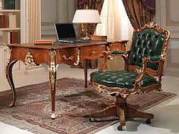 classic office desk. Classic Office Armchair / Wooden Leather Swivel Desk D