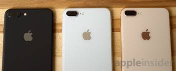 iphone 8 gold. conversely, iphone 8 models have fewer new finish color options than last year: silver (with a white face), gold face) and space grey iphone