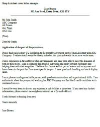 Retail Cover Letter Sample How To Write A Cover Letter Retail Sample Customer Service