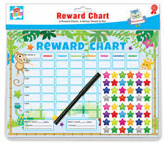 Details About 6 Jungle Themed Childrens Reward Charts With Star Stickers Pens By Kids Create