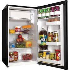 office mini refrigerator. 3.3 Cu Ft Compact Refrigerator Black Haier Mini Fridge Office Dorm Game Room O