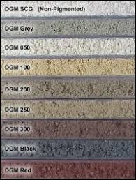 Brixment Color Chart Brixment Color Chart Pool House Options