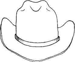 Small Picture Drawing Cowboy Hat Colouring Page Colouring Tube