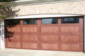 cedar garage doors. Faux Wood Doors Cedar Garage