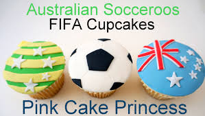 Soccer Ball Icing Decorations 100 FIFA World Cup Socceroos Soccer Ball Cupcakes 100 Tim Cahill 78