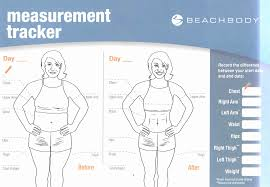 Specific Tracking Body Measurements Tracking Body Measurements
