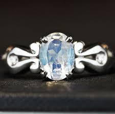 more info 13639 victorian inspired palladium moonstone and diamond engagement