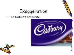 persuasive adverts key exaggeration• the nation s favourite