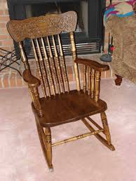 wooden rocking chair. old wooden rocking chair great furniture references
