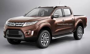 New Suzuki Equator Pickup Rendered