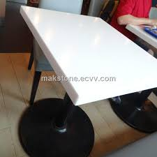 restaurant table top and corian artificial stone tables