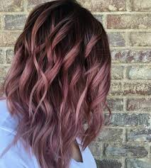 38 Rose Gold Hair Color Ideas