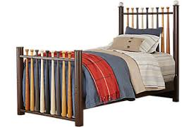 twin beds for boys.  For Batter Up Cherry 2 Pc Twin Baseball Bed Throughout Beds For Boys