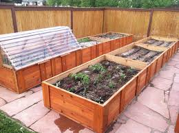 Raised Garden Bed Design Ideas Raised Box Garden The Gardens