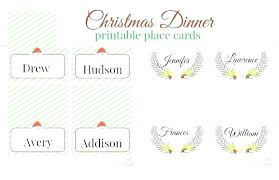 Template For Place Cards Free Free Place Card Template Printable Templates Dinner Name Images Of