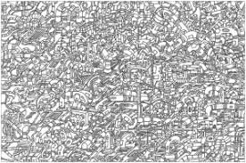 Complex Coloring Pages For Adults Color Bros