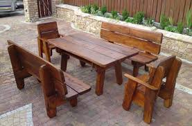 attractive wooden outdoor furniture wooden outdoor furniture to enjoy the sun carehomedecor