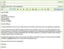 Resume Email Inspiration Email Resume Template Resume Email Template Best Email Resume Sample