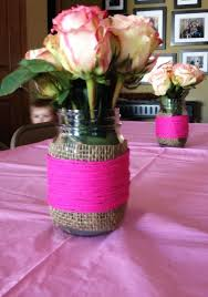 Decorating With Mason Jars For Baby Shower Baby Girl Shower Ideas on a Budget Crafty Morning 58