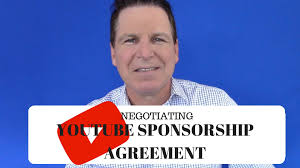 How To Negotiate A Youtube Sponsorship Agreement (Youtuber Law ...