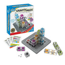 details about thinkfun gravity maze marble run logic game and stem toy for boys and girls age
