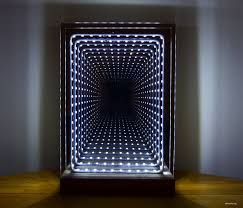 mirror lamp. introduction: modern led infinity mirror table lamp
