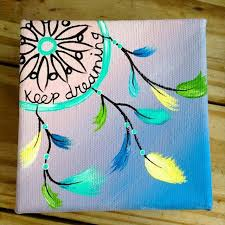 Ideas For Making Dream Catchers 100 DIY Awesome Wall Art Ideas Walls Dream catcher canvas and 86