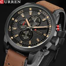 <b>CURREN 8250</b> Fashion <b>Casual</b> Waterproof Quartz Watch Men ...