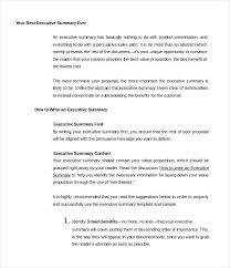 Business Proposal Apa Format Beautiful Sample Of Executive Summary