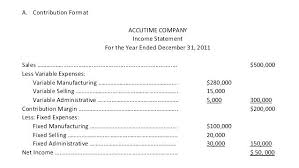 Formate Of Income Statement Manufacturing Income Statement Template Manufacturing Profit And