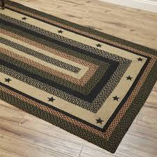 area rugs wonderful country style braided jute star black with regard to prepare western farmhouse round texas cowhide decor large lodge design rustic