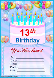 Free Birthday Invitation Templates With Photo Birthday Card Invitation Template Birthday Invitation Design
