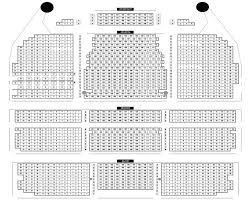 Shubert Theatre Seating Chart