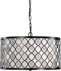 modern drum pendant lighting. uttermost 22062 filigree black drum pendant light loading zoom modern lighting o