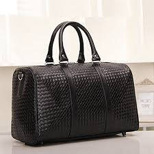 new fashion luggage travel bags faux leather men s travel bag men large duffle bags