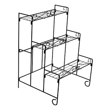 3 tier plant stand nz made of natural