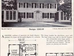 Original Craftsman Plans  Bungalow House Plans  s    Dutch Colonial Revival House Interior Colonial Revival House Plans
