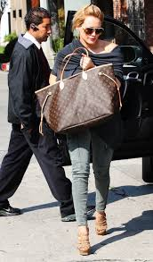 Hilary duff's on board, too. Louis Vuitton Vs Goyard Celebrity Tote Showdown Pursebop