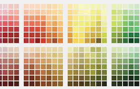 Sherwin Williams Color Chart Paint Colors By Family Sherwin Williams