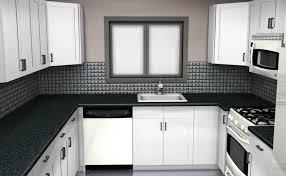 Microwave In Kitchen Cabinet Kitchen Granite Contertops Topmount Sink Microwave White Kitchen