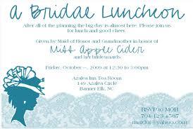 Office Bridal Shower Invitation Wording Bridal Luncheon Invitation 15