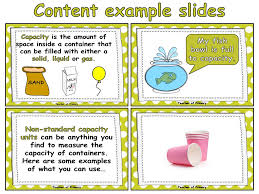 Measuring Capacity Using Non-Standard Units - Animated PowerPoint ...