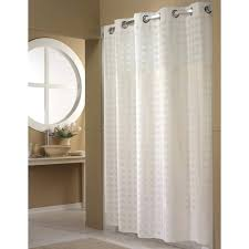 hookless shower curtain extra long white smlf getting
