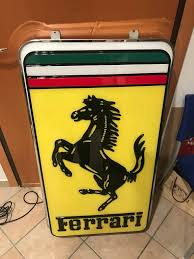 Ferrari Dealership Sign Petroliana For Sale Hemmings Motor News