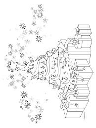 Kleurplaat Kerstboom Met Cadeautjes Kleurplatennl