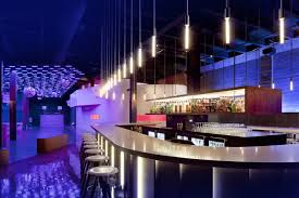 Ultra Modern lounge bar nightclub in Seattle called simply ' The Main Bar'