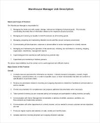 Warehouse Supervisor Resume Warehouse Supervisor Resume Sample Department Of Civil