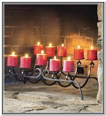 fireplace candle holder target sconce tulip wall metal centerpieces iron wrought